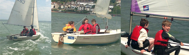 RYA Sailing Stage 1, 2 & 3 courses underway