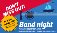 Band Night @ Leigh Community Centre