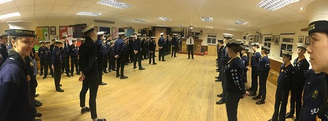 Royal Navy Review Success