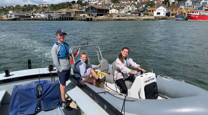Safety Boat Fundraising supported by Co-op Community Fund