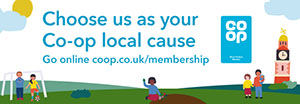 Choose us as your local Co-op Community Cause
