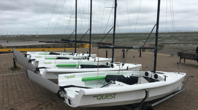 New sailing dinghies arrive for 3rdCB