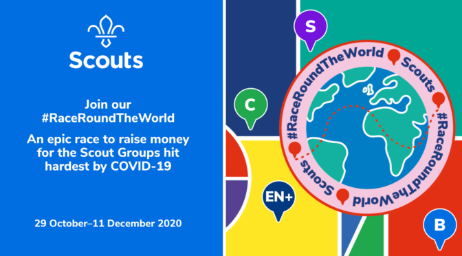 Scouts Race Round the World